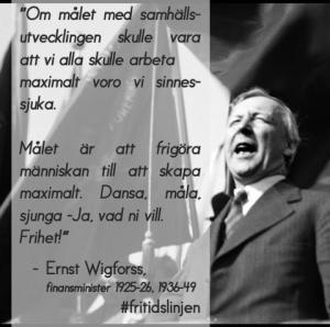 Ernst Wigforss citat